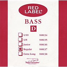 Super Sensitive Red Label 3/4 Size Double Bass Strings