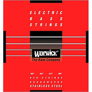 Warwick Red Label 4 String L Stainless Steel Bass Strings