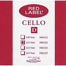 Super Sensitive Red Label Cello D String