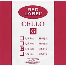 Super Sensitive Red Label Cello G String