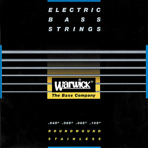 Warwick Red Label Stainless Wound Medium Light 4-String Bass Strings-thumbnail