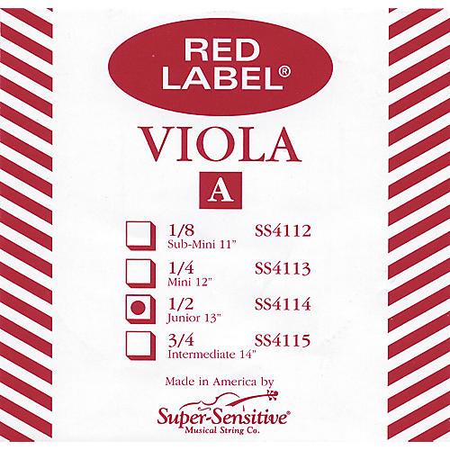 Super Sensitive Red Label Viola A String-thumbnail