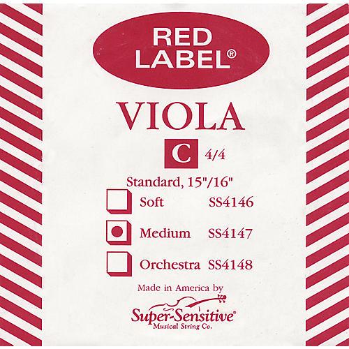 Super Sensitive Red Label Viola C String-thumbnail