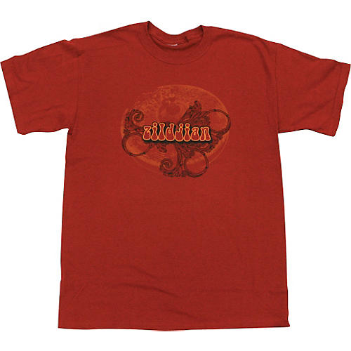 Zildjian Red Retro T-Shirt-thumbnail