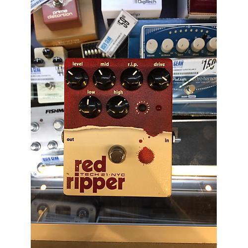 Tech 21 Red Ripper Bass Effect Pedal