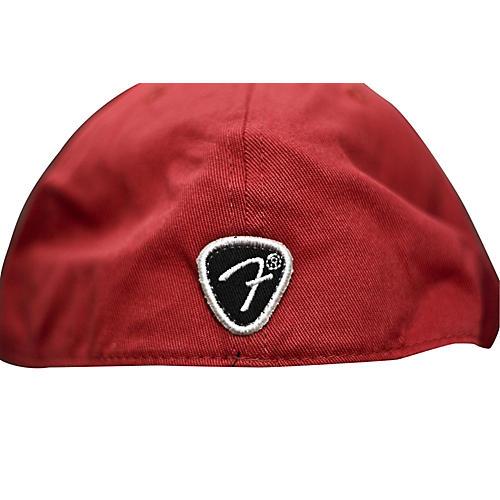 Fender Red Script Logo Stretch Cap
