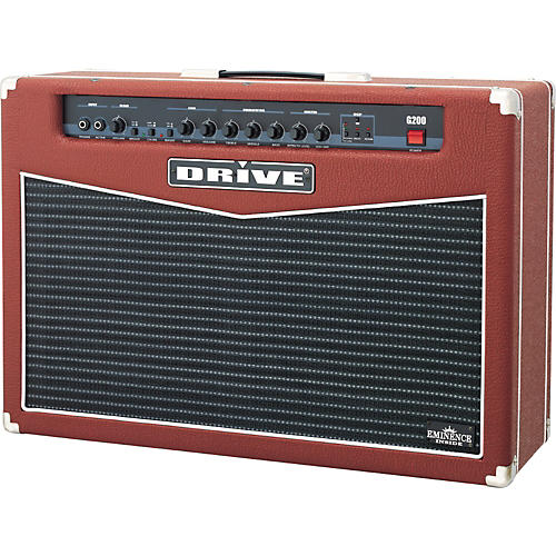 Drive Red Special MRG200 DSP 2x12 Guitar Amp-thumbnail