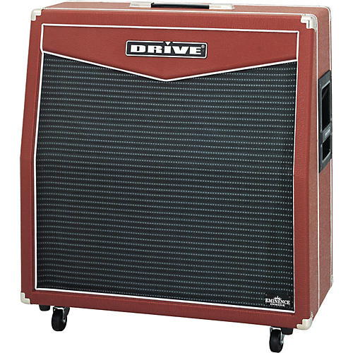 Drive Red Special MRG412L 500W 4x12 Guitar Extension Cabinet