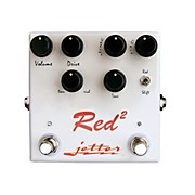 Jetter Gear Red Square Overdrive Guitar Effects Pedal