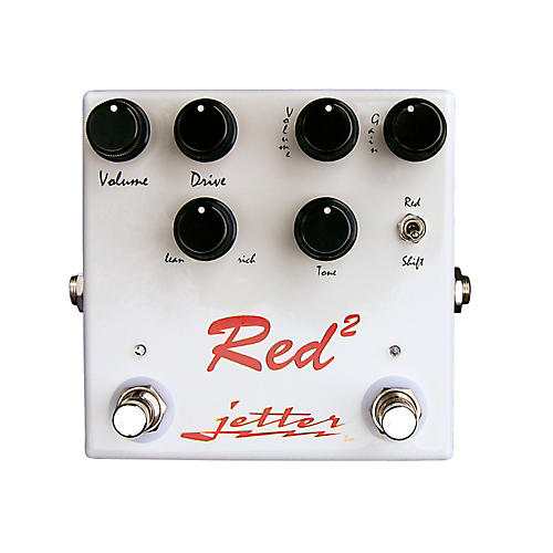 Jetter Gear Red Square Overdrive Guitar Effects Pedal-thumbnail