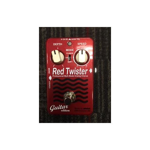 EBS Red Twister Effect Pedal