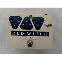 Titan Red Witch Effect Pedal