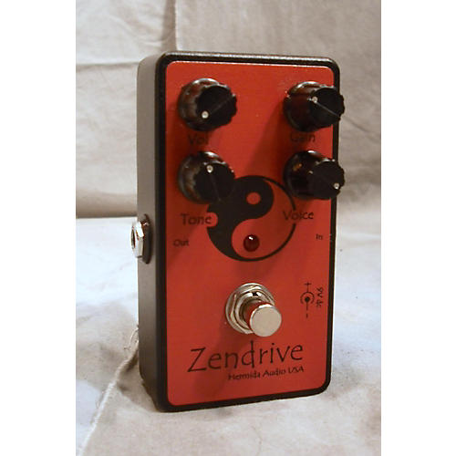 In Store Used Red Zendrive Effect Pedal-thumbnail