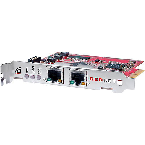 Focusrite RedNet PCIeR Dedicated Dante Audio Interface Card With Network Redundancy For Windows Or Mac-thumbnail
