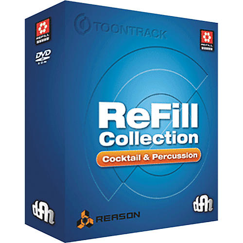 Toontrack Refill Collection: Percussion and Cocktail