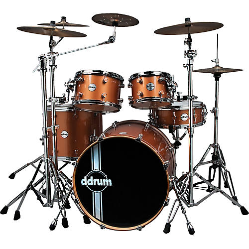 Ddrum Reflex Custom 5-Piece Shell Pack White Bubble