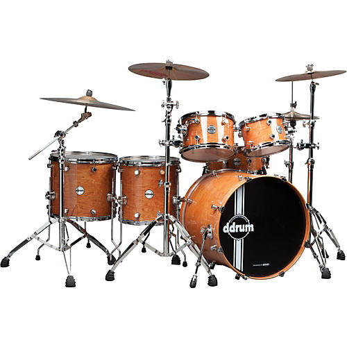 Ddrum Reflex Uptown Exotic 6-Piece Shell Pack Gloss Natural Alder