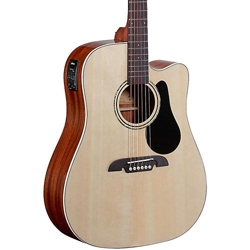 Alvarez Regent Series Dreadnought Cutaway Acoustic-Electric Guitar-thumbnail