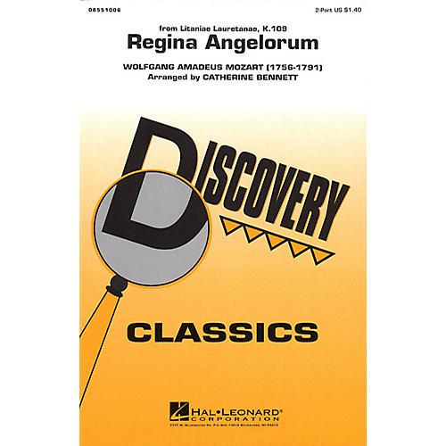 Hal Leonard Regina Angelorum 2-Part arranged by Catherine Bennett