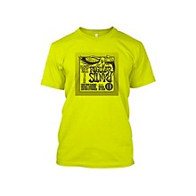 Ernie Ball Regular Slinky T-Shirt Neon Yellow Large
