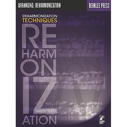 Berklee Press Reharmonization Techniques Book-thumbnail