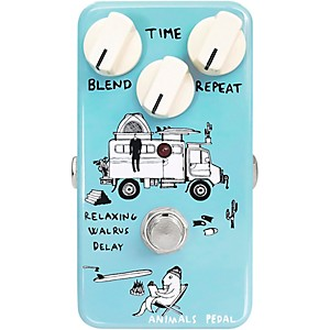 Animals Pedal Relaxing Walrus Delay Effects Pedal by Animals Pedal