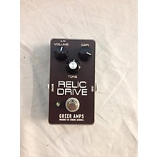 Greer Amplification Relic Drive Effect Pedal