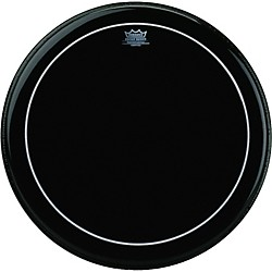 Remo Ebony Series Pinstripe Bass Drumhead (ES-1616-PS)