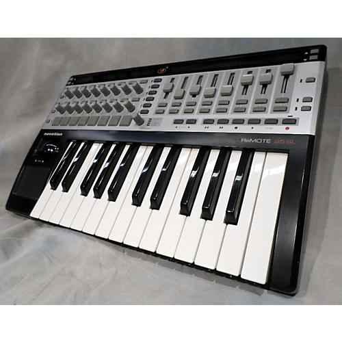used novation remote 25sl midi controller guitar center. Black Bedroom Furniture Sets. Home Design Ideas