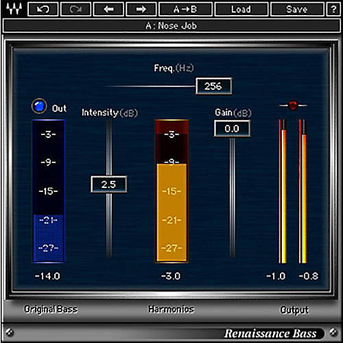 Waves Renaissance Bass Native/TDM/SG Software Download-thumbnail