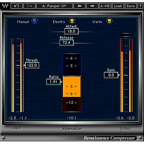 Waves Renaissance Compressor Native Software Plug-In Software Download-thumbnail