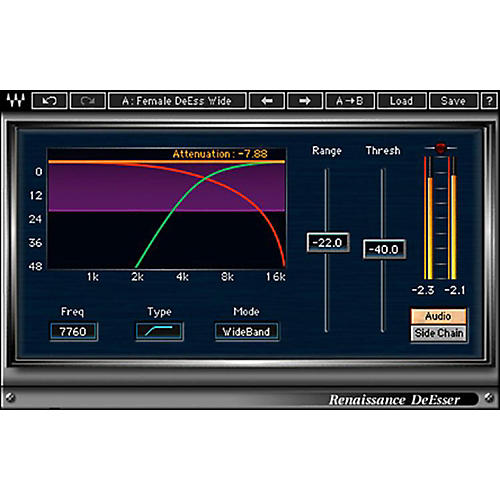 Waves Renaissance DeEsser Native/TDM/SG Software Download-thumbnail