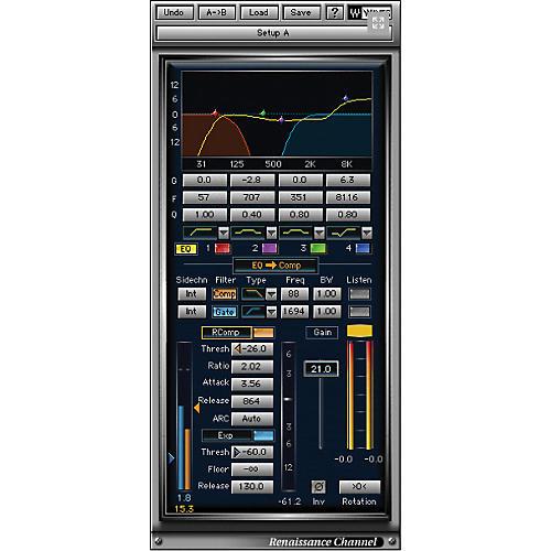 Waves Renaissance Maxx + EZ Drummer Native License Software Download
