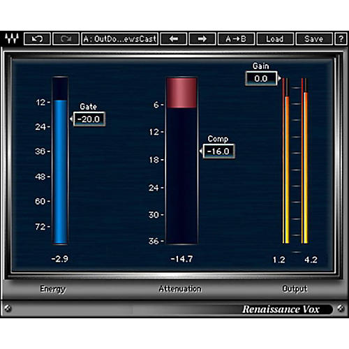 Waves Renaissance Vox Native/TDM/SG Software Download-thumbnail
