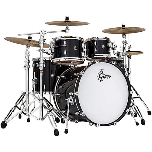 Gretsch Drums Renown Birch 4-Piece Euro Shell Pack Piano Black-thumbnail