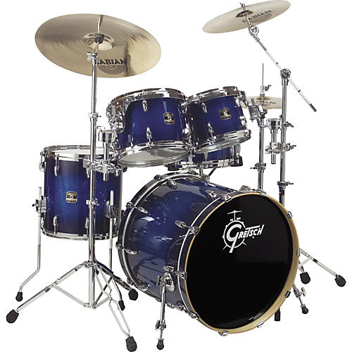 Gretsch Drums Renown Maple Fusion Floor Shell Pack Autumn Burst
