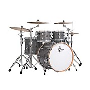 Renown Series 4-Piece Shell Pack with 22 inch Bass Drum Blue Metal