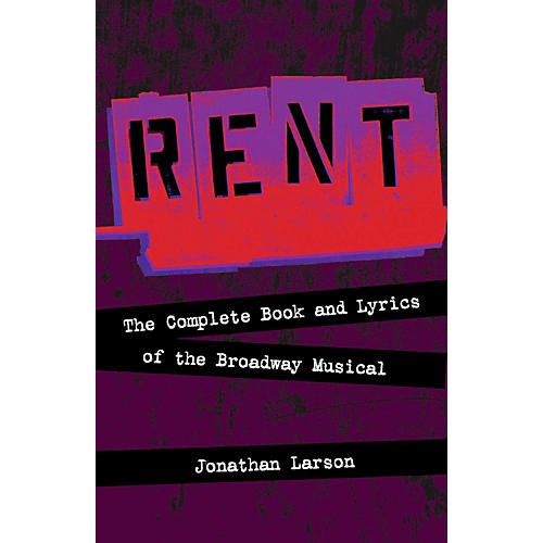 Hal Leonard Rent:  The Complete Book and Lyrics of the Broadway Musical-thumbnail