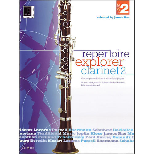 Carl Fischer Repertoir Explorer - Clarinet Vol.2 Book-thumbnail