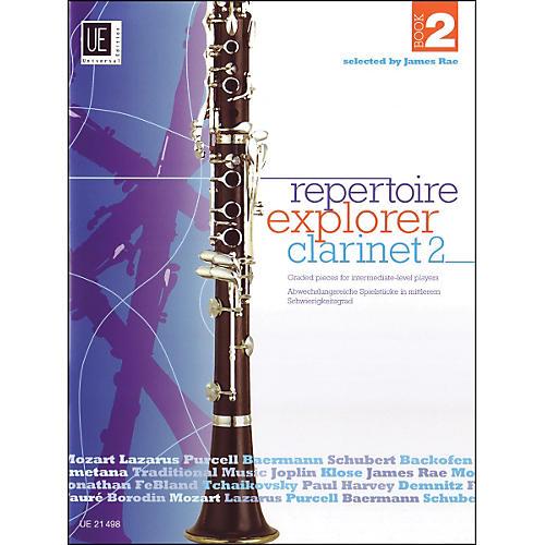 Carl Fischer Repertoir Explorer - Clarinet Vol.2 Book