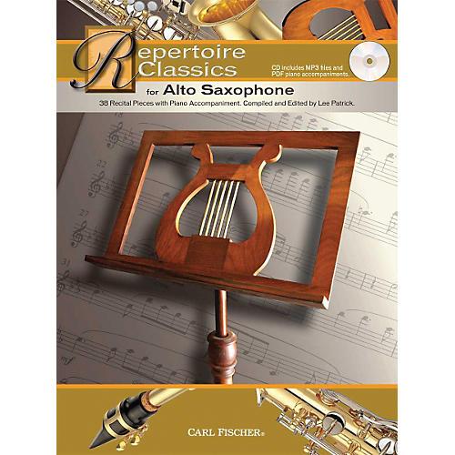 Carl Fischer Repertoire Classics for Alto Saxophone (Book/ Data MP3 CD)