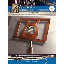 Carl Fischer Repertoire Classics for Bassoon (Bassoon & Piano Accompaniment) Book/CD