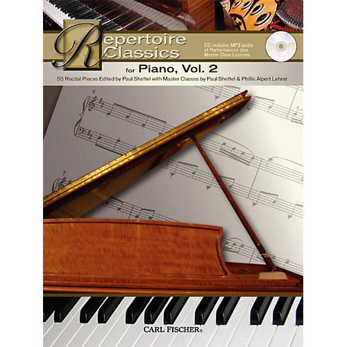 Carl Fischer Repertoire Classics for Piano, Book
