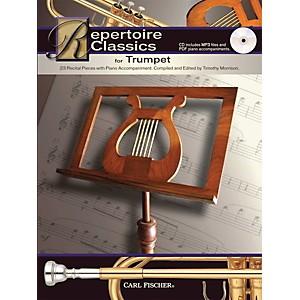 Carl Fischer Repertoire Classics for Trumpet Book/ Data MP3 CD by Carl Fischer