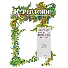 Editio Musica Budapest Repertoire for the Recorder - Volume 1B EMB Series by Various
