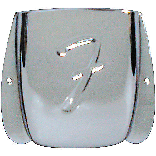 Fender Replacement J Bass Bridge Cover Chrome