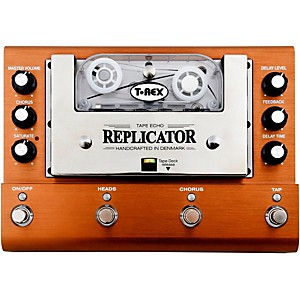 T-Rex Engineering Replicator Analog Tape Delay Guitar Effects Pedal by T Rex Engineering