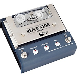 T-Rex Engineering Replicator Junior Analog Tape Echo Delay Effects Pedal by T Rex Engineering