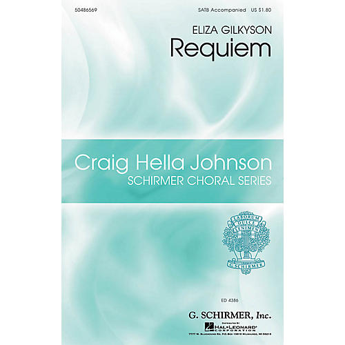 G. Schirmer Requiem (Craig Hella Johnson Choral Series) SATB arranged by Craig Hella Johnson