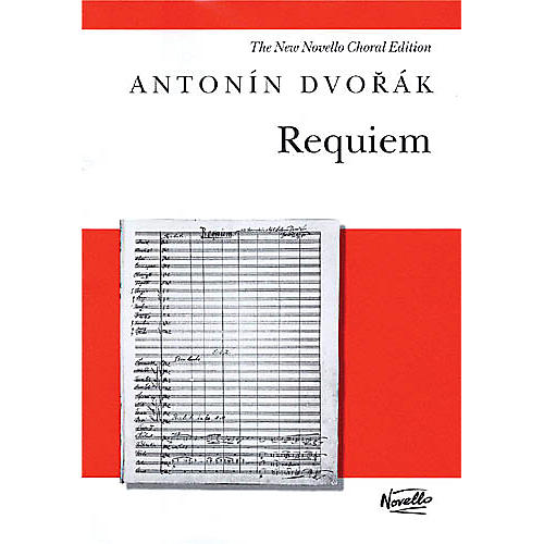 Novello Requiem, Op. 89 (Vocal Score) SATB Composed by Antonin Dvorak